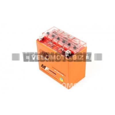 АКБ 12V 12А гелевый (150.6x87.5x146.4, оранжевый, mod:YTX 14-BS) OUTDO