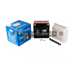 АКБ 12V 12А кислотный (150x87x145, черный, mod:YTX 14-BS) OUTDO