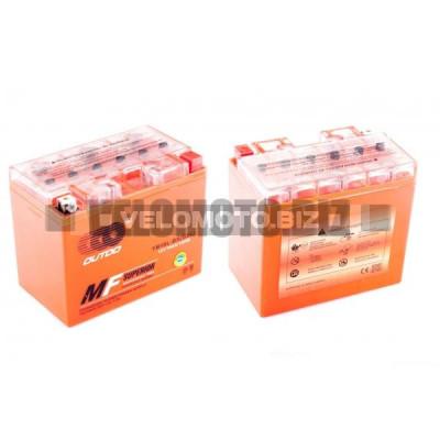 АКБ 12V 19А гелевый (174x100.4x153.3, оранжевый, mod:YB 16L-BS) OUTDO