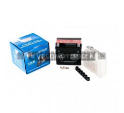 АКБ 12V 4А кислотный (113x70x105, черный, mod:YTX 5L-BS) OUTDO