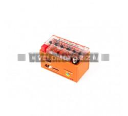 АКБ 12V 8,6А гелевый (150x85.8x93.6, оранжевый, mod:YTZ 10S) OUTDO