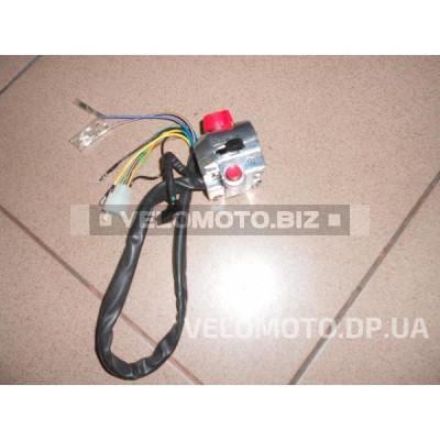 Блоки кнопок руля (правый)   Zongshen ZS50F   (чоппер, хром)