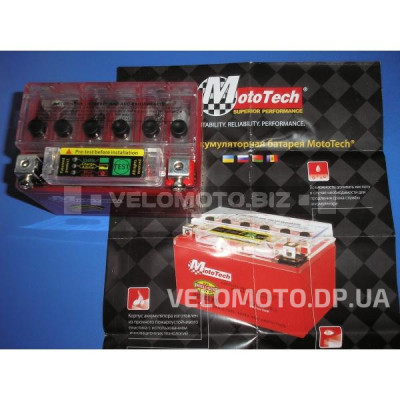 Аккумулятор Mototech YTX 4L-BS (IGEL)