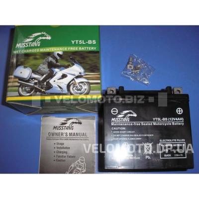 Аккумулятор Musstang YT5L-BS (12V4Ah) Alpfa/Activ