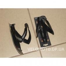 Крепёж фляги М-образный, пластик (черный)