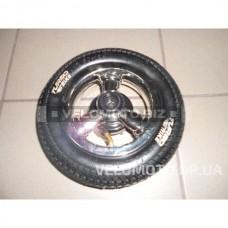 Колесо заднее  8 1/2x2 (50-134) на резине (трех. колесн. велосипеды)