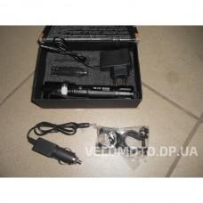 Фонарь линза POLICE BL-8626 99000W + 2 зарядки