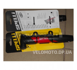 Велонасос Spelli (PL) SPM-177 красный (телескопическая ручка)
