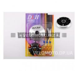 Вариатор передний (тюнинг) 4T GY6 50 спорт (ролики латунь 9шт, палец, пружины сцепления) DLH