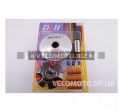 Вариатор передний (тюнинг) 4T Stels 150 (р. латунь 9шт, палец, пр. сцепл.) DLH