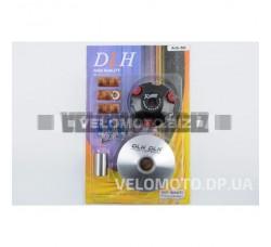 Вариатор передний (тюнинг) Suzuki AD50 (ролики латунь 9шт, палец, пружины сцепления) DLH