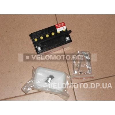Аккумулятор 12V7Аh сухозаряженный с кислотой