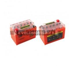 Акб   12V 9А   гелевый   OUTDO    (151x86x106, оранжевый, с индикатором заряда)